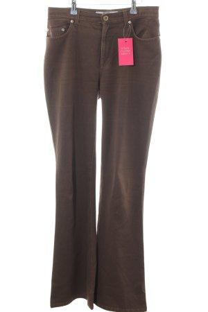 Krizia Jeans Boot Cut spijkerbroek brons casual uitstraling