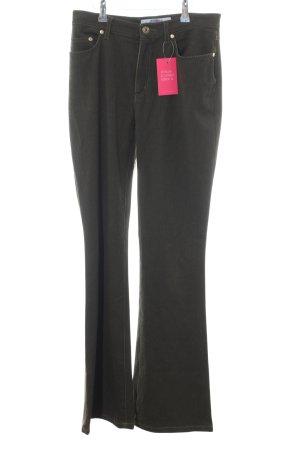 Krizia Jeans Boot Cut spijkerbroek khaki casual uitstraling