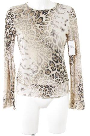 Krizia Jeans Longsleeve Leomuster Street-Fashion-Look