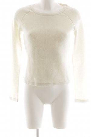 Krizia Jeans Crewneck Sweater white casual look
