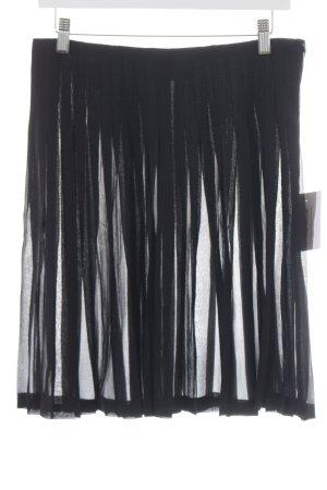 Krizia Minirock schwarz Elegant