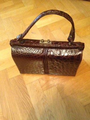 Kroko-Leder-Tasche