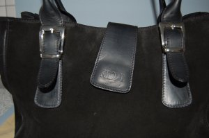 Carry Bag black suede