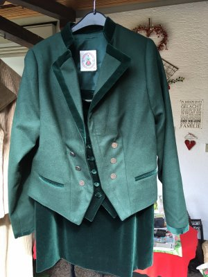 Krüger Dirndl Traditional Jacket dark green