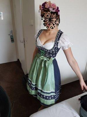 Krüger Dirndl Dirndl multicolore Cotone