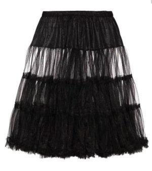 Krüger Dirndl Petticoat, Gr. 34-42, schwarz, neuwertig