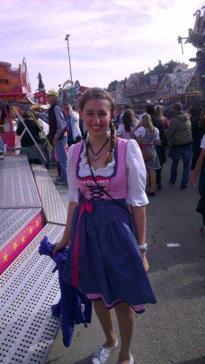 Krüger Dirndl - rosa