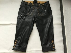 Krüger Pantalon bavarois brun foncé cuir