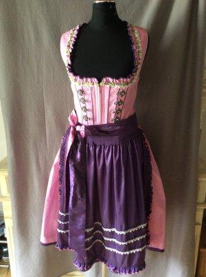 Krüger Dirndl Traditional Dress pink-dark violet