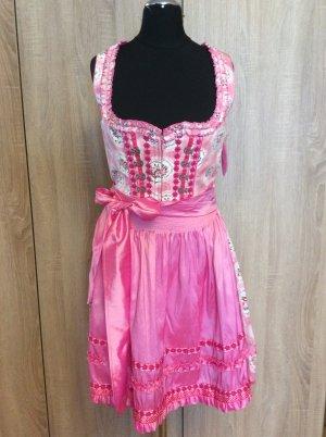 Krüger Dirndl Traditional Dress pink-pink