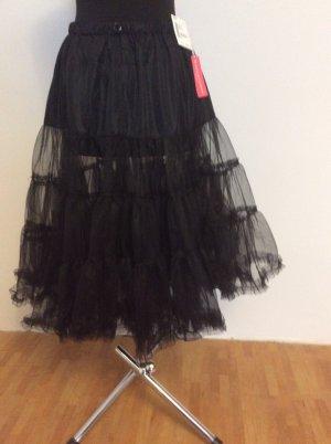 Krüger Petticoat schwarz one Size  neu