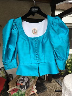 Krüger Dirndl Traditional Jacket turquoise
