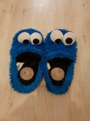Zapatillas para casa azul