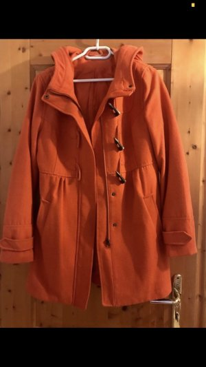 H&M Divided Hooded Coat orange-dark orange