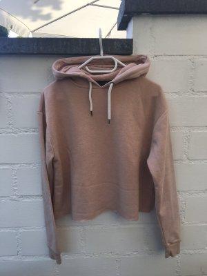 kürzere rosa Kapuzen Pullover von Primark