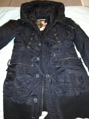 Kuhjo Winterjas zwart