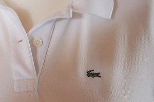 Kult-Shirt von Lacoste in weiß