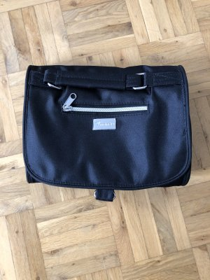 Travel Bag black-silver-colored