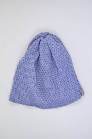 Knitted Hat purple