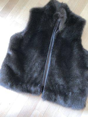 Mexx Fake Fur Vest brown