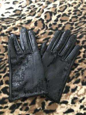 Nakd Gloves black imitation leather