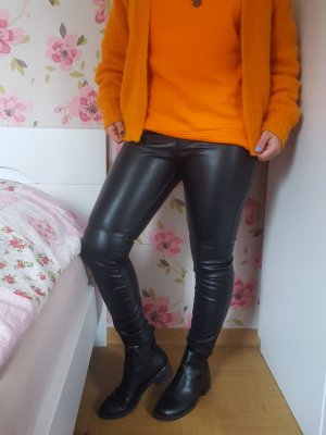 Kunst Lederhose in schwarz