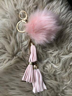 Porte-clés doré-rosé