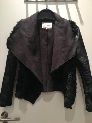 Kunstfell Jacke in Größe 40