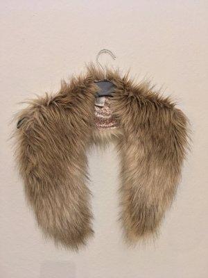 Kunstfell Schal Stola Fake-Fur