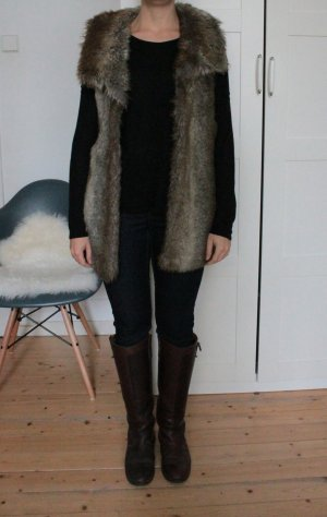 Kunstfell Weste Fake Fur