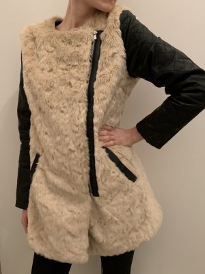 Atmosphere Fake Fur Jacket multicolored