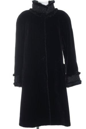 Fake Fur Jacket black fluffy
