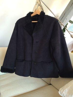 Insieme Fake Fur Jacket black