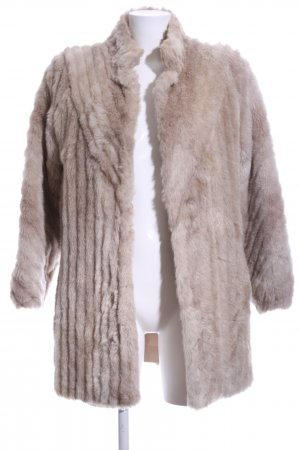"Fake Fur Coat ""Jaques Saint Laurent"" nude"
