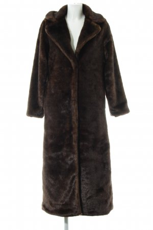 Fake Fur Coat multicolored casual look