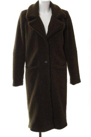"Fake Fur Coat ""MOUSSY COAT "" dark green"