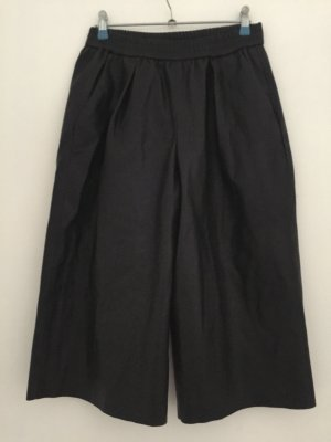 Kunstleder Bermuda-Shorts Zara Schwarz Gr S