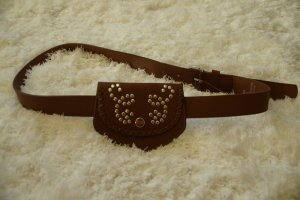 Urban Outfitters Belt brown imitation leather