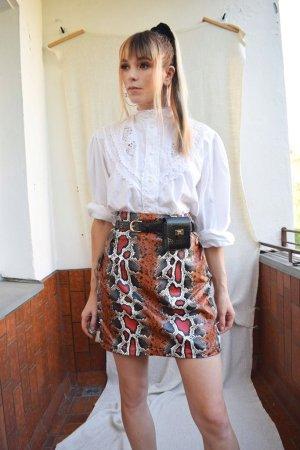 Lavish Alice High Waist Skirt multicolored imitation leather