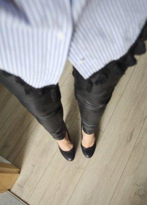 Kunstleder Hose H&M NEU grösse 36 schwarz
