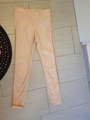 H&M Divided Drainpipe Trousers nude