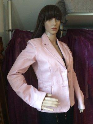Kunstleder Jacke in einem schönen rosé