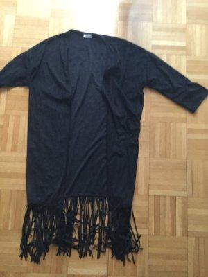 Faux Leather Jacket black imitation leather