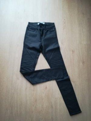 Kunstleder Jeans
