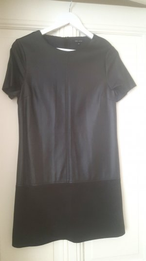 New Look Leather Dress black