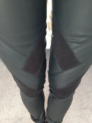 Kunstleder-Leggings Only schwarz in Gr. XS-Highwaist