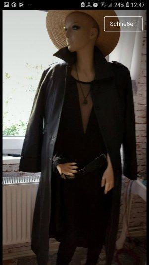 b.p.c. Bonprix Collection Faux Leather Jacket black