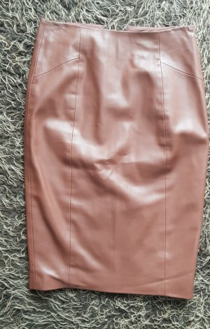 Orsay Faux Leather Skirt bronze-colored