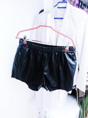 Kunstleder Shorts von H&M