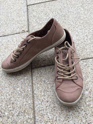 Kunstleder Sneakers altrosa von Fila